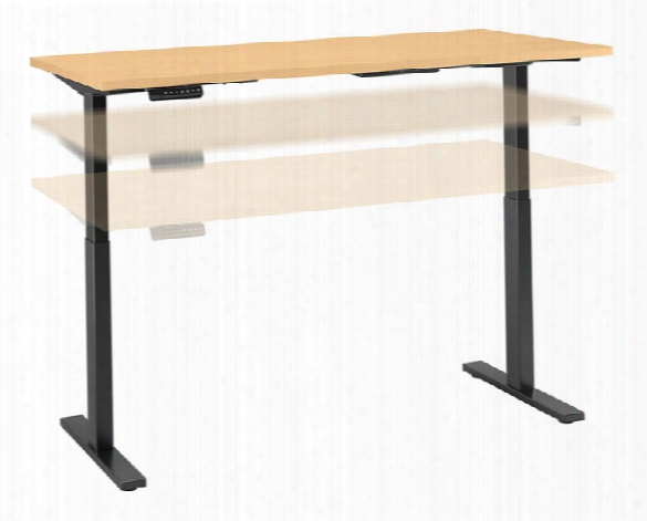 "60""w X 24""d Height Adjustable Standing Desk By Bush"