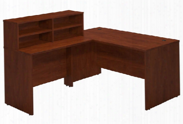 "60""w X 30""d Reception L Desk By Bush"
