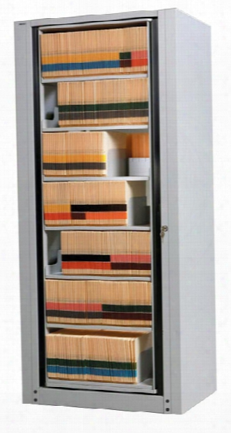 7-tier Legal Arc Rotary File - Starter Unit By Mayline Office Furniture