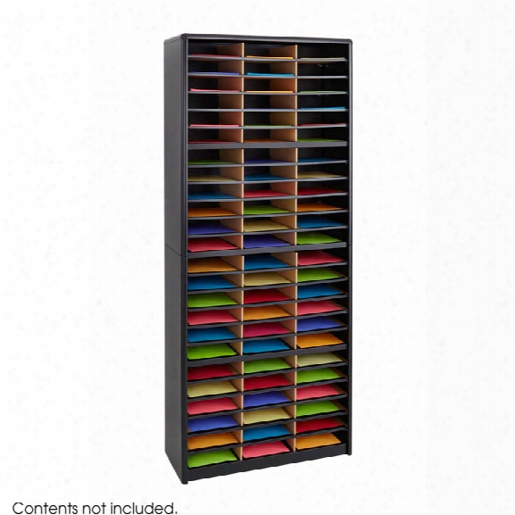 72 Compartment Literature Sorter By Safco Office Furniture