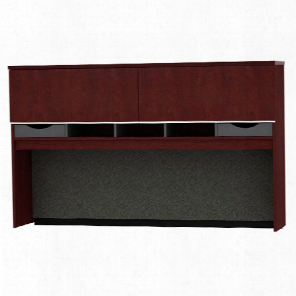 "72""w Credenza Hutch By Bush"