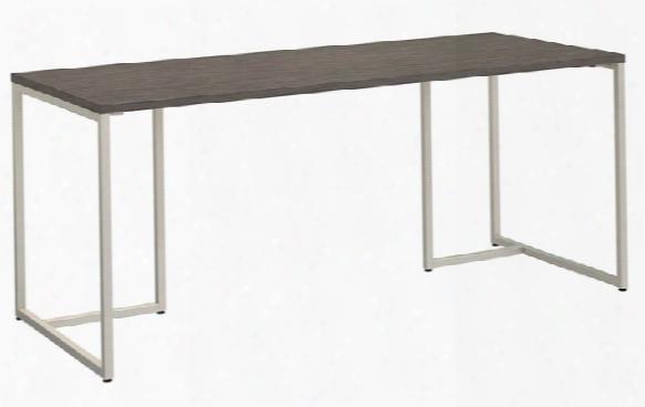 "72""w Table Desk By Bush"