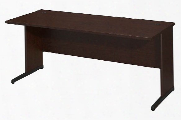 "72""w X 30""d C-leg Desk By Bush"