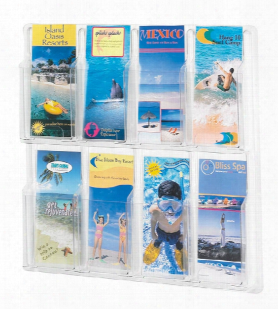 8 Pamphlet Display By Safco Office Furniture