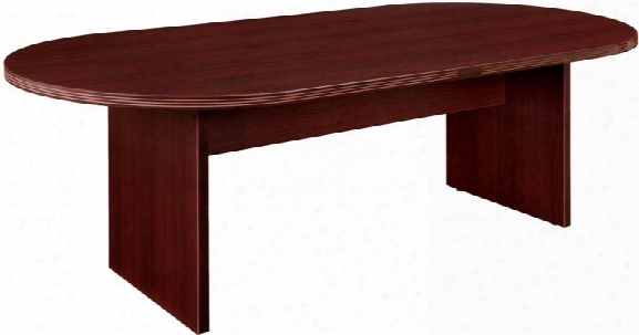 8' Racetrack Conference Table By Dmi Office Furniture