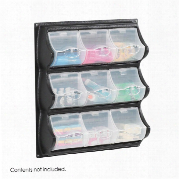 9 Pocket Panel Bins By Safco Office Furniture