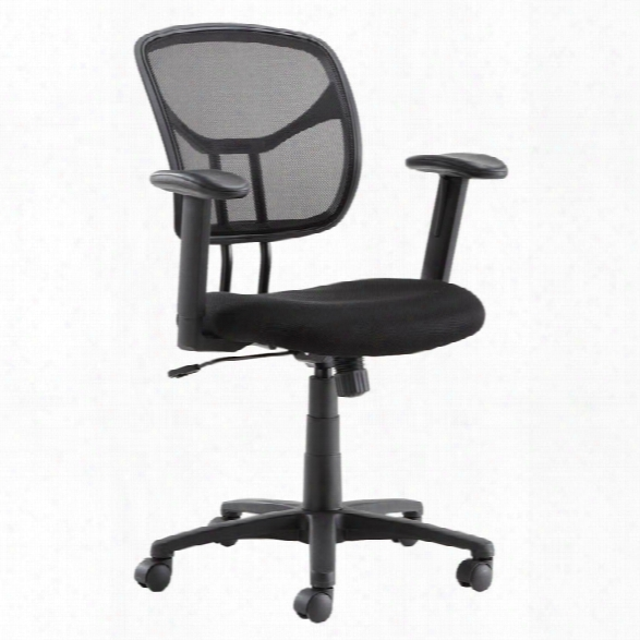 Adjustable Arm Mesh Chair By Solution Seating