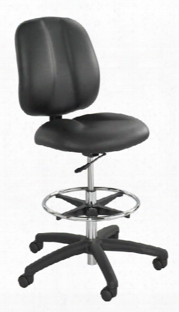 Apprentice Ii Extended Height Vinyl Chair By Safco Office Furniture