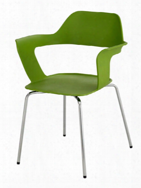 """Bandiâ""""¢ Shell Stack Chair (qty. 2) By Safco Office Furniture"""