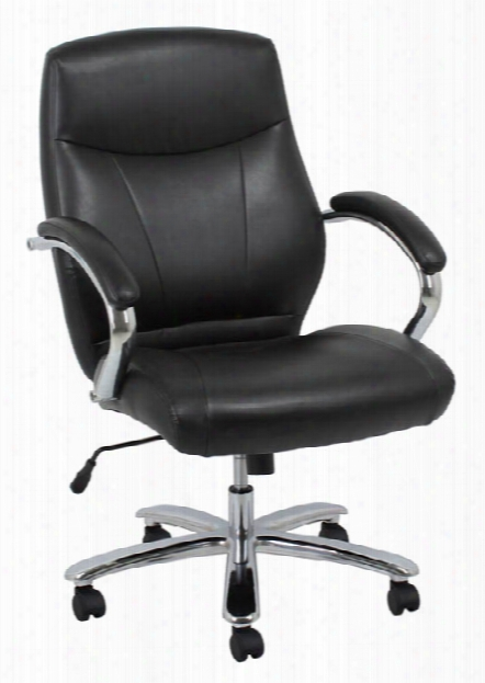 Big & Tall Leather Chair By Solution Seating