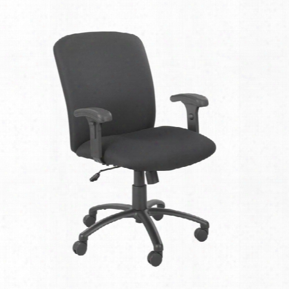 Big And Tall High Back Chair With Arms By Safco Office Furniture