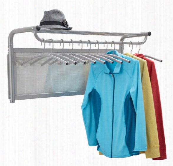 Coat Wall Rack With Hangers By Safco Office Furniture