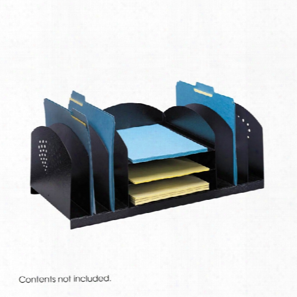 Combination Rack 6 Upright And 3 Horizontal By Safco Office Furnitture