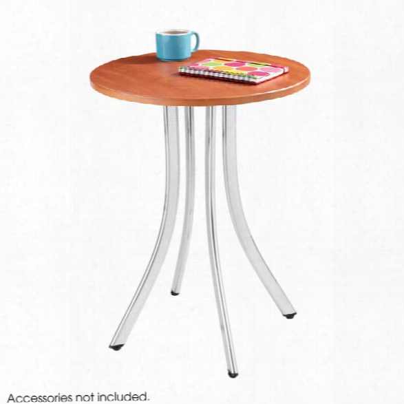 """Decoriâ""""¢ Wood Side Table - Tall By Safco Office Furniture"""