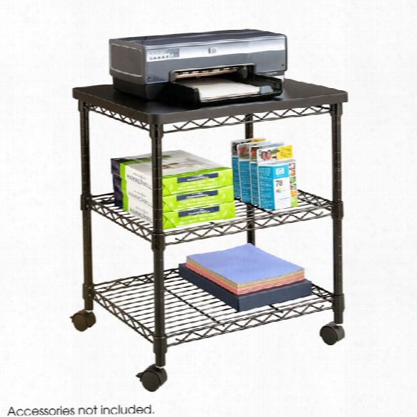 Deskside Wire Machine Stand By Safco Office Furniture