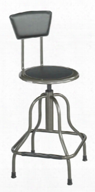 Diesel High Base Stool With Back By Safco Office Furniture
