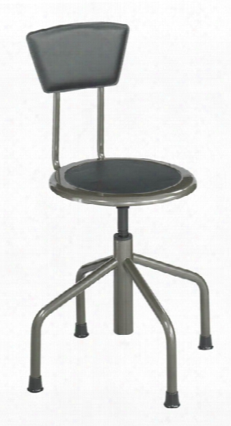 Diesel Lo Base Stool With Back By Safco Office Furniture