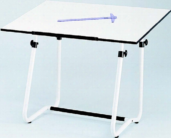 "Drafting Table, 47 Ã'â¾"" X 35 Ã'â¾"" With Vista Base By Safco Office Furniture"