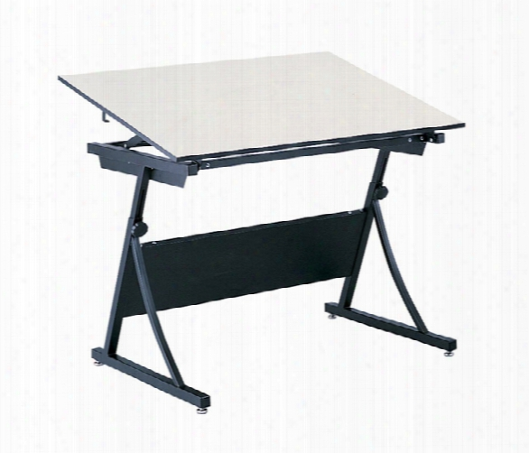 "Drafting Table, 60"" X 37 1/2"" With Planmaster Height-adjustable Base By Safco Office Furniture"