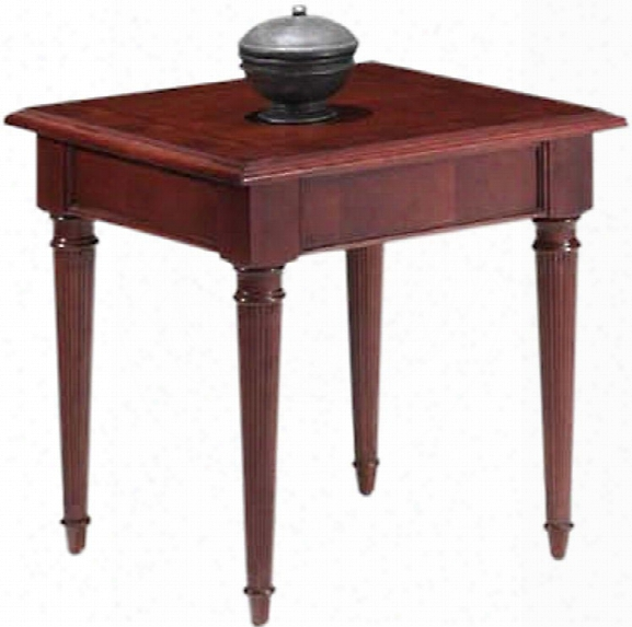 English Cherry End Table By Dmi Office Furniture