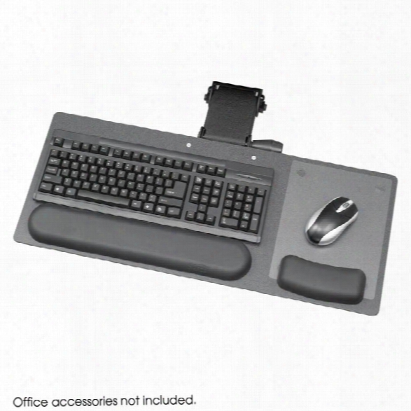 "Ergo-comfortã'â® Articulating 28"" Keyboard/mouse Arm By Safco Office Furniture"