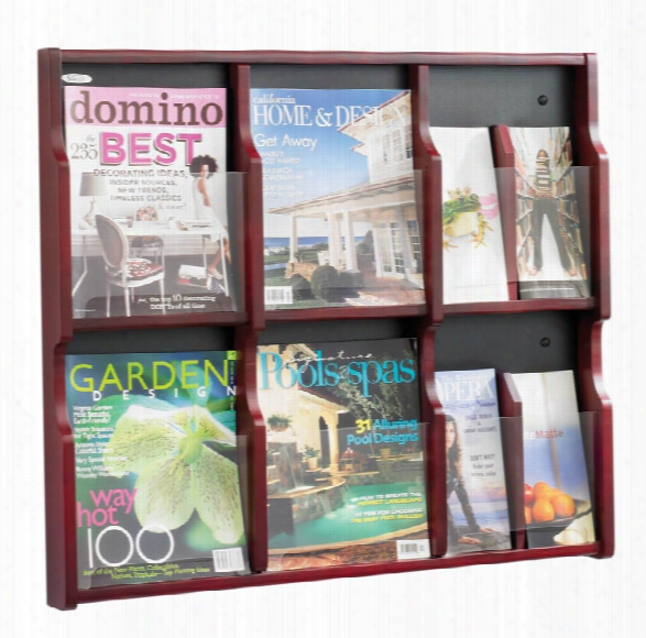 "Exposeâ""¢ 6 Magazine 12 Pamphlet Display By Safco Office Furniture"