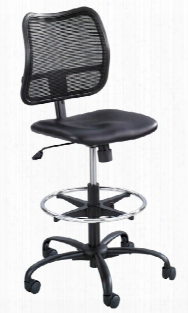 Extended-height Vinyl Chair By Safco Office Furniture