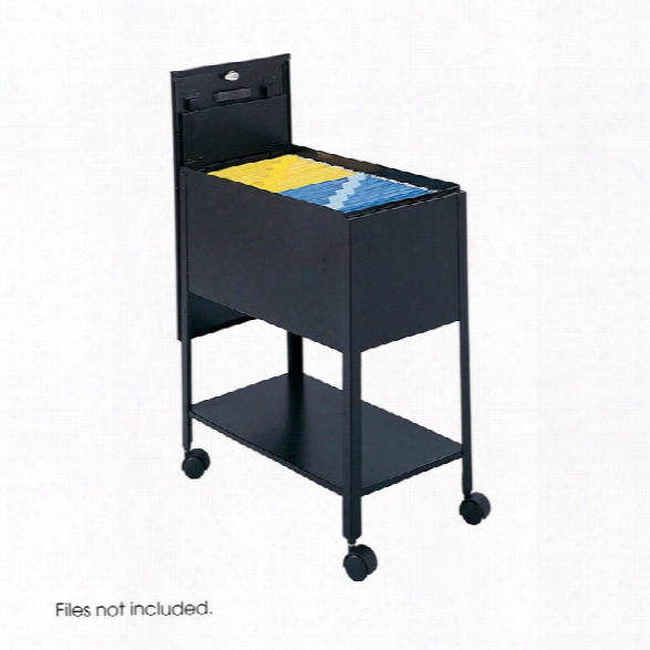 Extra Deep Mobile Tub File With Lock, Letter Size By Safco Office Furniture