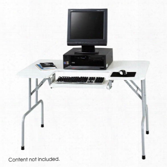 Folding Computer Table By Safco Office Furniture