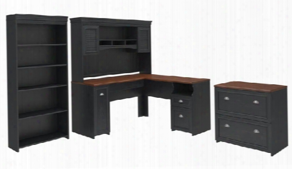 Four Piece Office Suite By Bush