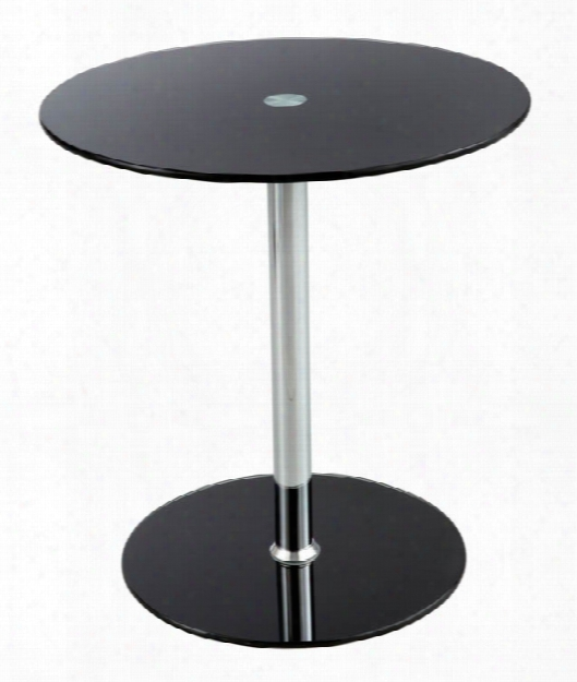 Glass Accent Table By Safco Office Furniture