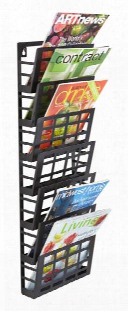 Grid Magazine Rack 7 Pocket By Safco Office Furniture