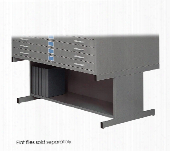 High Base Flat File By Safco Office Furniture