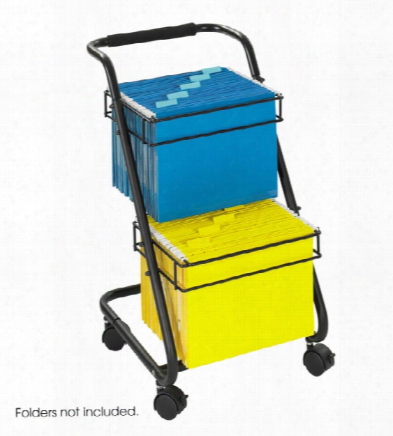 "Jazzâ""¢ Two-tier File Cart By Safco Office Furniture"