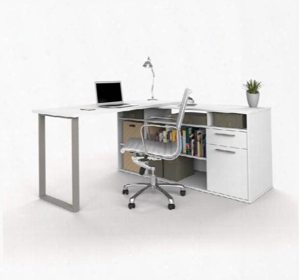 L-shaped Desk By Bestar