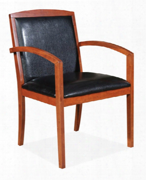 Leather Guest Chair By Office Source