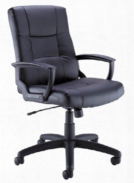 Leather Managers Chair By Bush