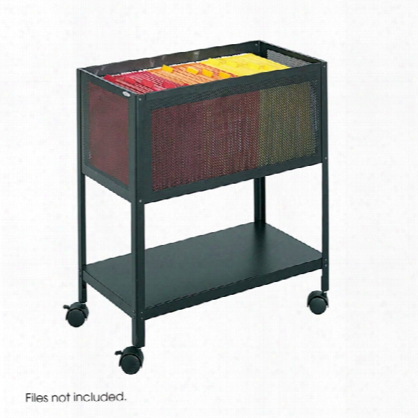 Mesh Open Top Tub File By Safco Office Furniture