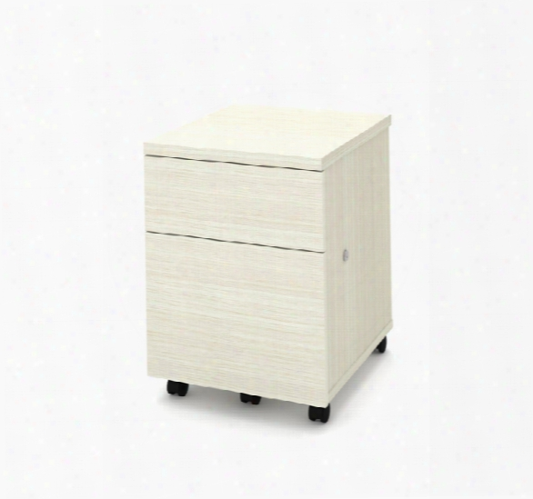 Mobile Pedestal File Cabinet By Bestar