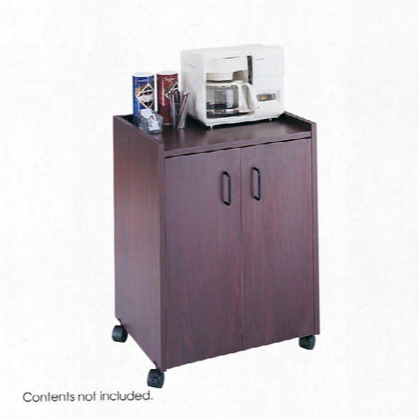 Mobile Refreshment Cart By Safco Office Furniture