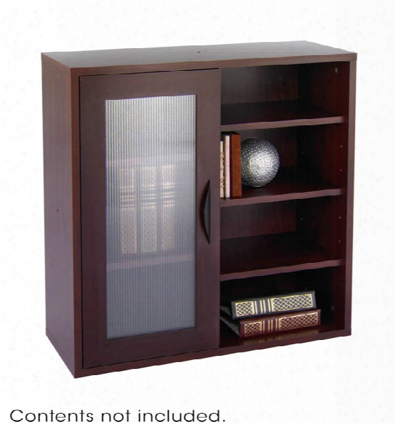 Modular Storage Single Door/ Open Shelves By Safco Office Furniture