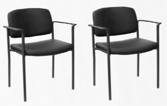 Office Guest Chairs - Set Of 2 By Bush