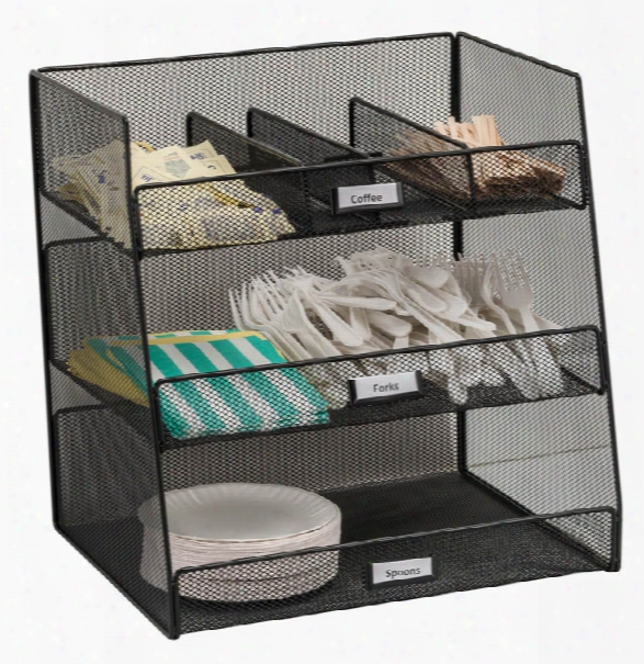 "Onyxâ""¢ Break Room Organizer By Safco Office Furniture"