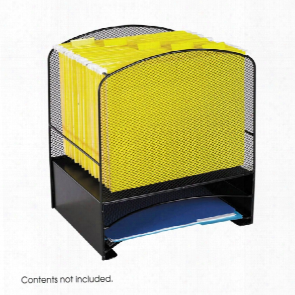 """Onyxâ""""¢ Hanging File/2 Horizontal Sorters By Safco Office Furniture"""