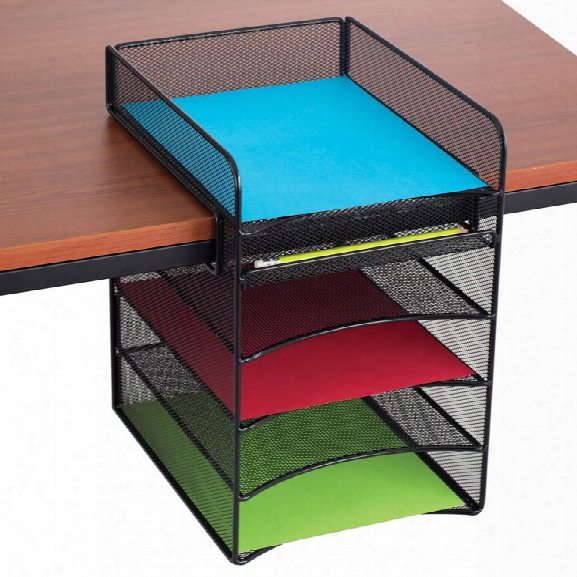"""Onyxâ""""¢ Horizontal Hanging Storage By Safco Office Furniture"""