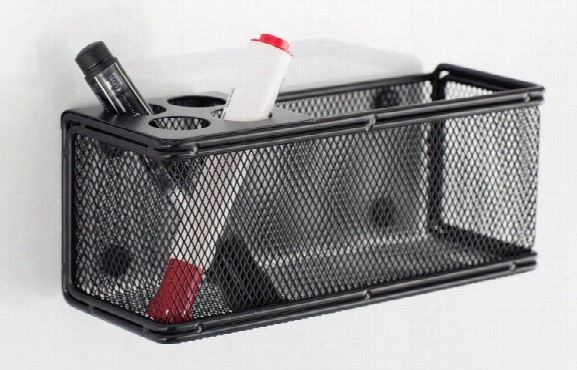 "Onyxâ""¢ Mesh Marker Organizer With Basket By Safco Office Furniture"