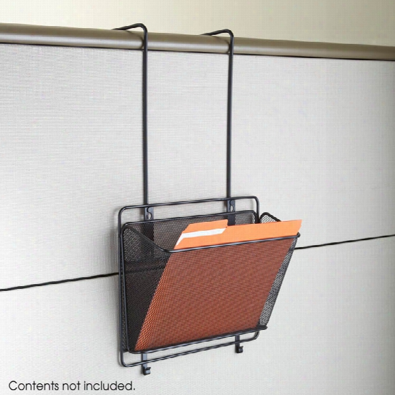 "Onyxâ""¢ Panel Organizer Basket By Safco Office Furniture"