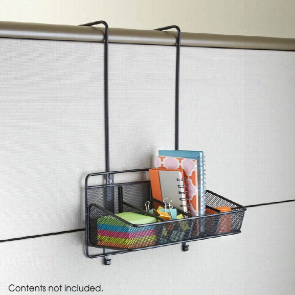 """Onyxâ""""¢ Panel Organizer Supplies 4 Pocket By Safco Office Furniture"""