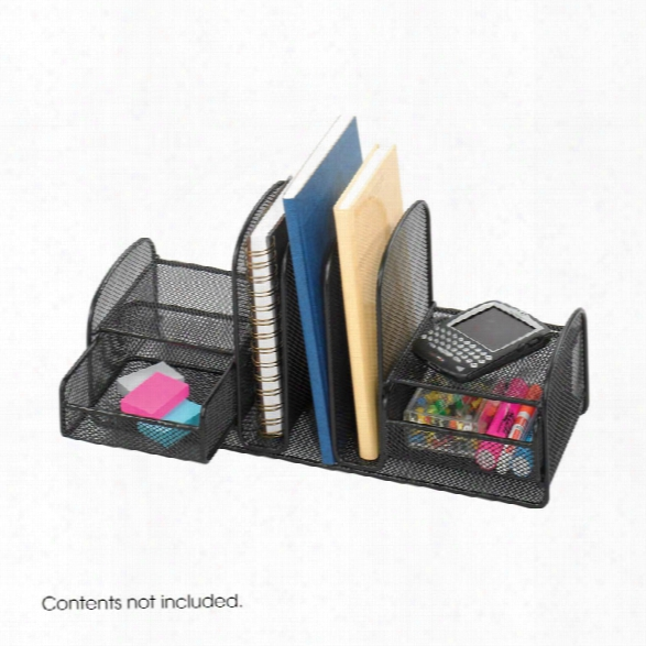"""Onyxâ""""¢ Three Upright Sections/two Baskets By Safco Office Furniture"""