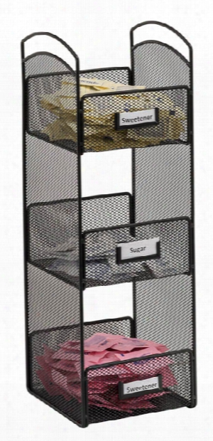 "Onyxâ""¢ Tower Break Room Organizer By Safco Office Furniture"